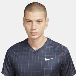 Prix Tee Shirt NikeCourt Dri-FIT Victory Bleu Marine