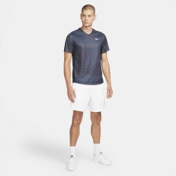 Promo Tee Shirt NikeCourt Dri-FIT Victory Bleu Marine