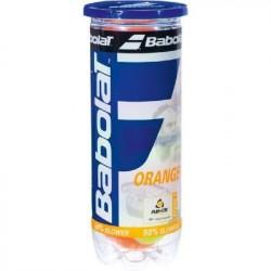 Tube de 3 Balles Mini Tennis Babolat Orange