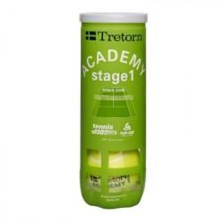 Tube de 3 Balles Tretorn Academy Green