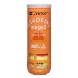 Tube de 3 Balles Tretorn Academy Orange