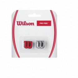 Antivibrateurs Wilson Pro Feel Rouge/Gris