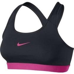 Brassière Femme Nike Noir/Rose