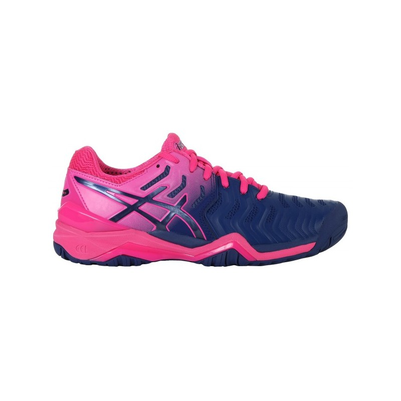 chaussure asics femme rose