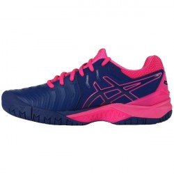 Chaussure Asics Gel-Resolution 7 Rose/Marine