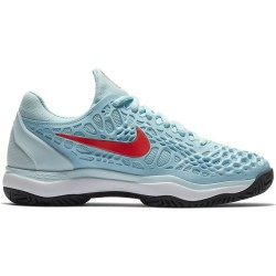 Chaussure Femme Nike Zoom Cage 3 Bleu Ciel