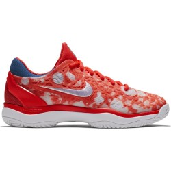 Chaussure Femme NikeCourt Air Zoom Cage 3 Premium Orange
