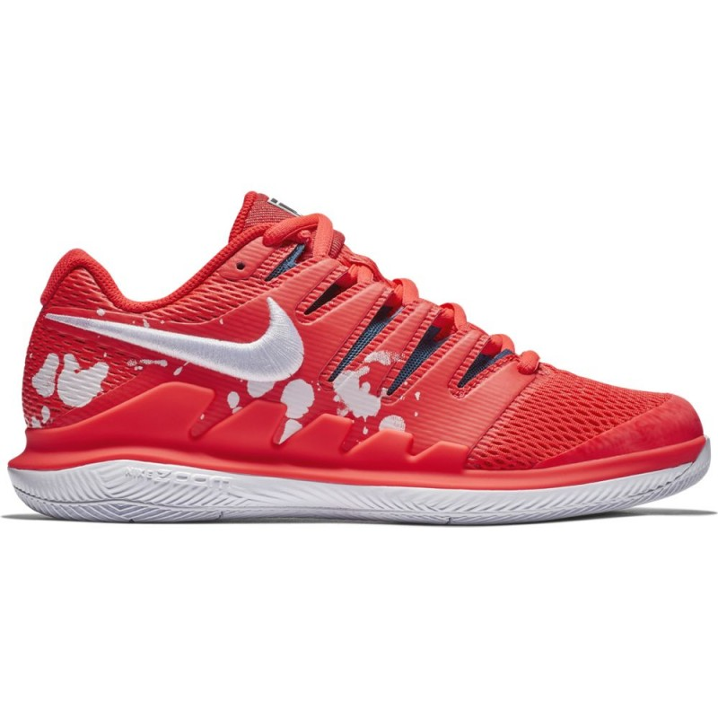 Chaussure Femme NikeCourt Air Zoom Vapor X Orange