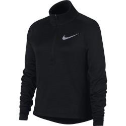 Haut Manches Longues Junior Nike Demi Zip Noir