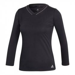 Haut Manches Longues Femme Adidas Club Noir