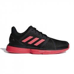Chaussure Adidas CourtJame Bounce Noir/Rose