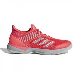 Chaussure Femme Adidas Adizero Ubersonic 3.0 Rose