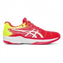 Chaussure Femme Asics Solution Speed FF Rose/Jaune