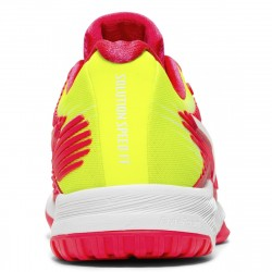 Achat Chaussure Femme Asics Solution Speed FF Rose/Jaune