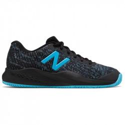 Chaussure Femme New Balance WC 996 Noir/Bleu