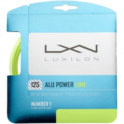 Cordage Luxilon Alu Power Lime
