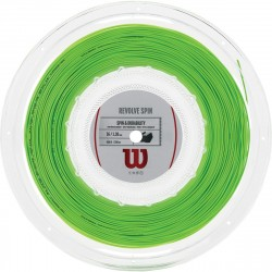Bobine de Cordage Wilson Revolve Spin Lime