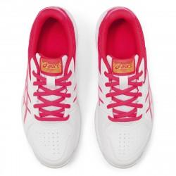 Achat Chaussure Junior Asics Court Slide Blanc