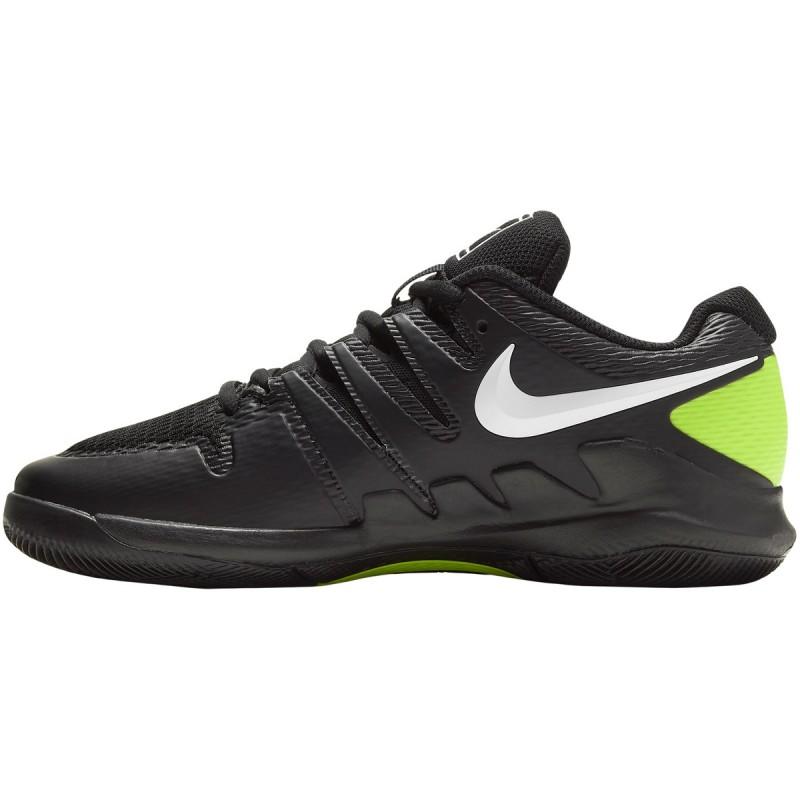 Chaussure Junior Nike Zoom Vapor X Noir