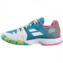 Achat Chaussure Femme Babolat Jet Match II Turquoise