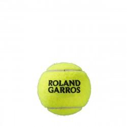 Achat BiPack de 4 Balles Wilson Roland Garros