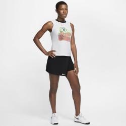 Prix Débardeur Femme Nikecourt Dri-Fit Blanc