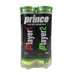 Bi-Pack Balles Prince NX Tour Pro