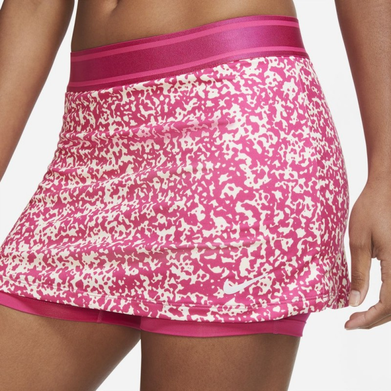 Jupe Femme NikeCourt Dri-FIT Rose