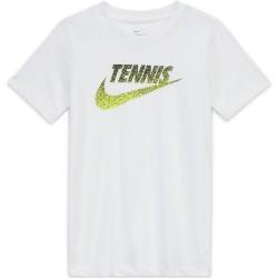 Tee Shirt Junior NikeCourt Blanc