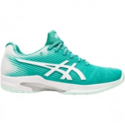 Chaussure Femme Asics Solution Speed FF Turquoise