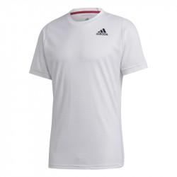 Tee Shirt Adidas Freelift Solid Heat.Rdy Blanc