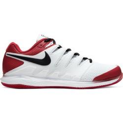 Chaussure NikeCourt Air Zoom Vapor X Blanc/Rouge
