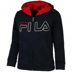 Sweat Junior Fila William Bleu Marine