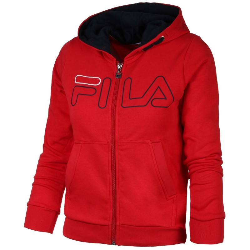 Sweat Junior Fila William Rouge