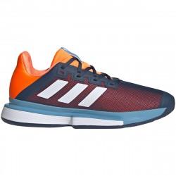 Chaussure Adidas SoleMatch Bounce Orange