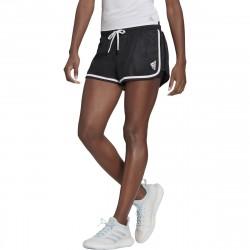 Achat Short Femme Adidas Club Noir