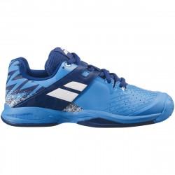 Chaussure Junior Babolat Propulse Bleu