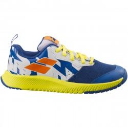 Chaussure Junior Babolat Pulsion Bleu