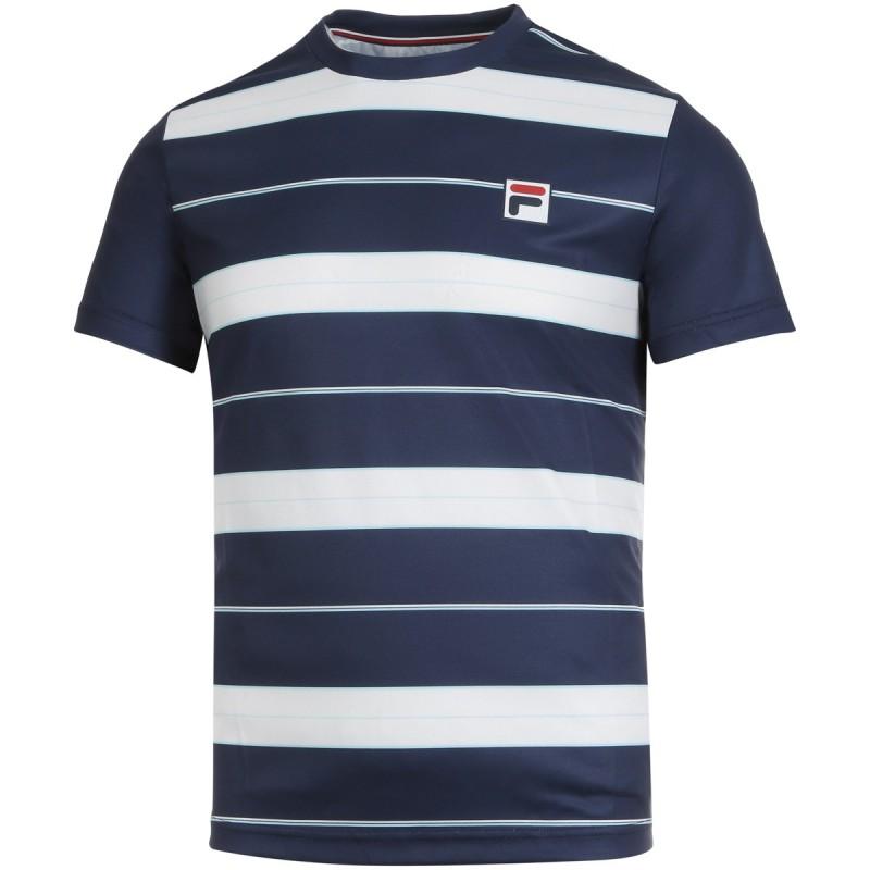 Tee Shirt Fila Julian Bleu Marine