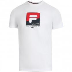 Tee Shirt Fila Sandro Blanc