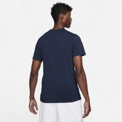 Prix Tee Shirt Nike Court Bleu Marine