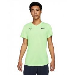 Tee Shirt NikeCourt Rafa Challenger Vert