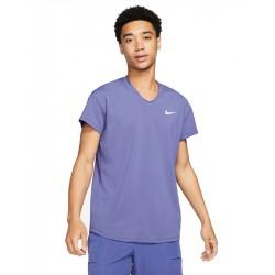 Tee Shirt NikeCourt Breathe Slam Violet
