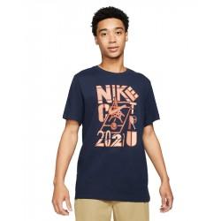 Tee Shirt NikeCourt Bleu Marine