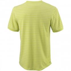Achat Tee Shirt Wilson Stripe Crew Vert