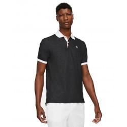 Polo NikeCourt Slam Noir