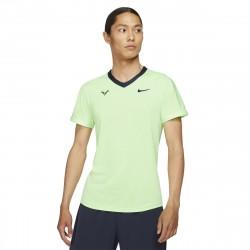 Tee Shirt NikeCourt Dri-FIT ADV Rafa Vert