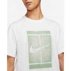 Prix Tee Shirt NikeCourt Blanc