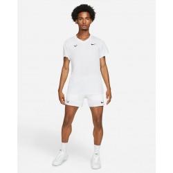 Promo Tee Shirt NikeCourt Rafa Challenger Blanc