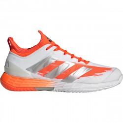 Chaussure Adidas Adizero Ubersonic 4.0 Blanc/Orange